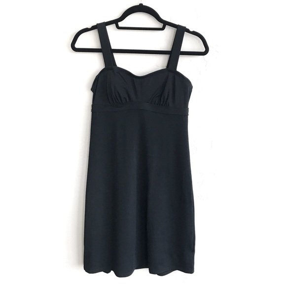 Athleta Black Pura Swim Dress Size 32 B//C